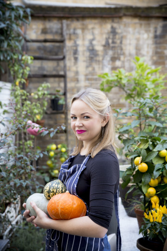 Rosie Birkett2 With Pumpkins by Uyen Luu